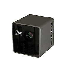 Unic p1 dlp draadloze mini portable 640 * 360 ondersteuning hd 1080p home theater videoprojector