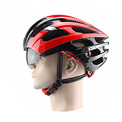 New Integrated Helmet with Glasses Goggles Helmet