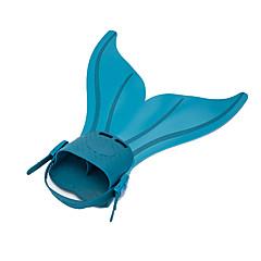 Kits para Snorkeling Fins de Mergulho Mergulho e Snorkeling Natação Silicone
