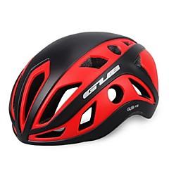 ספורטיבי Naisten koot Pyörä Helmet 22 Halkiot Pyöräily Pyöräily PC EPS Tumma vaaleanpunainen