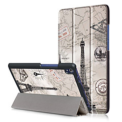PU Case Cover for Lenovo TAB3 Tab 3 8 Plus 8703 TB-8703F P8 with Screen Protector