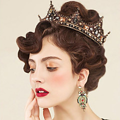 Rhinestone legering headpiece-bryllup spesiell anledning utendørs tiaras hårpinne 1 stk
