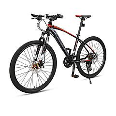 אופני הרים רכיבת אופניים 27 מהיר 700CC/26 אינץ' דיסק בלימה כפול מזלג שיכוך שלדת סגסוגת אלומיניום רגיל נגד החלקה אלומיניום סגסוגת