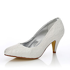 נשים-נעלי חתונה-משי טול-נוחות נעלי מועדון נעלי dyeable-קריסטל-חתונה שטח משרד ועבודה שמלה מסיבה וערב-עקב גביע
