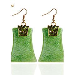 Drop Earrings Earrings Set Earrings Jewelry Basic Pendant Turkish Euramerican Handmade Fashion Vintage Bohemian Chrismas DIY Resin Square
