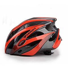 MOON יוניסקס אופניים קסדה 25 פתחי אוורור רכיבת אופניים רכיבה על אופני הרים רכיבה בכביש רכיבה על אופניים L: 58-61CM M: 55-58CM PC EPS