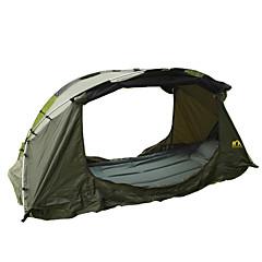 1 Pessoa Tenda Único Tenda Automática Um Quarto Barraca de acampamento 2000-3000 mm AlúminioProva de Água Resistente Raios Ultravioleta Á