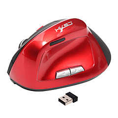 Ergonomisk lodret mus trådløs 6d genopladelig muscomputer mus 2.4ghz usb gaming mus optisk 2400dpi til bærbar pc