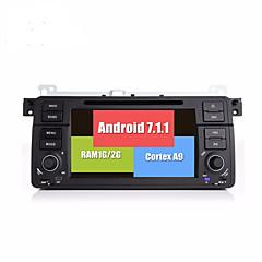 bonroad android 7.1.1クワッドコア1024 600のビデオDVDプレイヤー、e46 / m3 / mg / zt / rover 75/320/318/325ラジオrds gpsナビゲーションブルートゥース