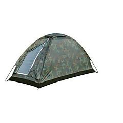 1 사람 텐트 싱글 캠핑 텐트 원 룸 접이식 텐트 용 캠핑 여행 CM