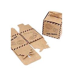 50 יחידה / סט מחזיק לטובת-מעוקב נייר כרטיסיםקופסאות קישוט תיקי קישוט קופסאות ודליי קישוט צנצנות ממתקים ובקבוקים קופסאות ועטיפות לקאפקייק