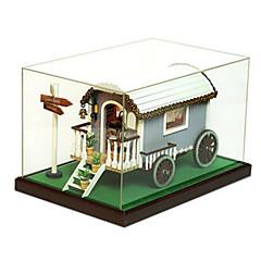 Kit de Bricolage Maquette & Jeu de Construction Bois Unisexe