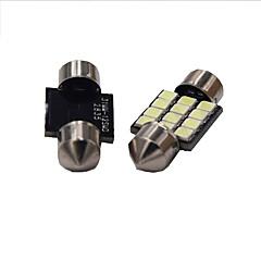1w bílá dc12v 39mm girlanda 12smd 2835 dome světelná svítidla světelná značka světla 2ks