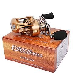 Hyrräkelat 7.0:1 9 Kuulalaakerit Vasenkätinen Hyrräkelaus Viehekalastus-EX150-L