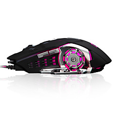 K2 6 teclas 3200dpi usb com mouse com fio com cabo de 180 cm