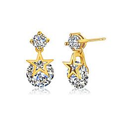 Heren Dames Oorknopjes Modieus Aanbiddelijk Eenvoudige Stijl Klassiek Kostuum juwelen Verzilverd Sieraden Voor Bruiloft Feest Verjaardag