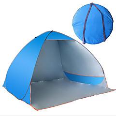 3-4人 キャンプ用ベッド折り畳み式ベッド 自動テント キャンプテント キャンバス 防水 抗紫外線