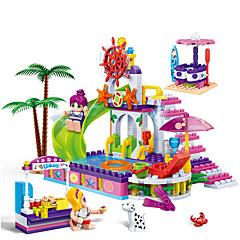 Építőkockák Ajándék Építőkockák Négyzet 3-6 éves Játékok