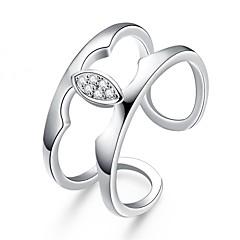 בגדי ריקוד נשים טבעת זירקונה מעוקבת עיצוב בייסיק עיצוב מעוגל עיצוב מיוחד סגנון קעקוע טבע גיאומטרי מעגל חברות אופנתי תכשיטי סרט וינטאג'