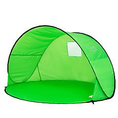 2 henkilöä Teltta Yksittäinen teltta Yksi huone Rantateltta Ultraviolettisäteilyn kestävä Sateen kestävä Pölynkestävä varten Retkeily ja