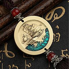 DIYの自動ペンダントエナメル高エンボスカー装飾品贈り物健康な幸運な車のペンダント&純粋な銅の装飾品