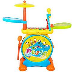 Spielzeuginstrumente Schlagzeug Musik Instrumente Sterne Zeichentrick Kunststoff Hartplastik