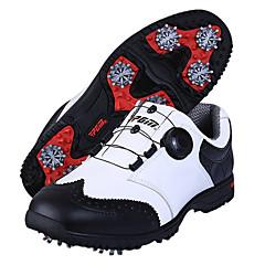נעלי יומיום נעלי גולף בגדי ריקוד גברים נגד החלקה Anti-Shake ריפוד נושם עמיד בפני שחיקה הצגה גומי צעידה ספורט פנאי