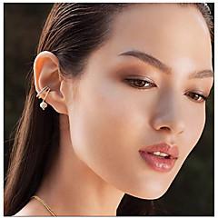 Žene Klipse Kubični Zirconia Multi-načina Nosite Slatka Style Otvoreno Moda Bohemia Style Zircon Glina Jewelry Za Vjenčanje Dnevno