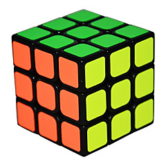 Rubik's Cube Qi Hang Cubo Macio de Velocidade 3*3*3 Etiqueta lisa Anti-Abertura Mola Ajustável Cubos Mágicos