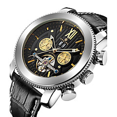 Men's Kid's Sport Watch Military Watch Mechanical Watch Japanese Automatic self-winding Chronograph Water Resistant / Water Proof Hollow