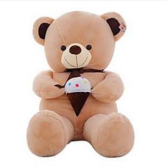 Stuffed Toys Urso Animal Tosão Coral Linho/Algodão todas as Idades