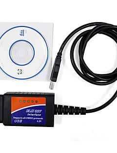 OBD2 skaner ELM327 USB - plastikowy