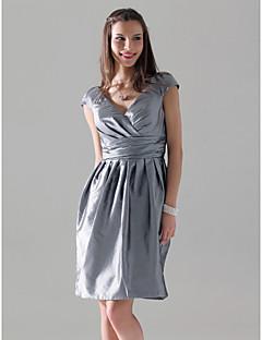STAFFORDSHIRE MOORLANDS - kjole til brudepige i taft