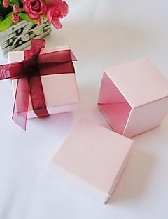24 Stück / Set Geschenke Halter-kubisch Kartonpapier Geschenkboxen Nicht personalisiert