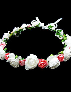 Women's/Flower Girl's Paper Headpiece - Special Occasion/Casual Flowers