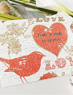 gepersonaliseerde puzzel - liefde vogel