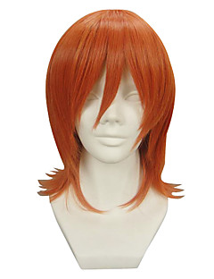 Cosplay Wigs One Piece Nami Orange Short Anime Cosplay Wigs 32 CM Heat Resistant Fiber Female