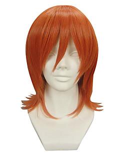 Cosplay-Peruukit One Piece Nami Oranssi Lyhyt Anime Cosplay-Peruukit 32 CM Heat Resistant Fiber Naaras