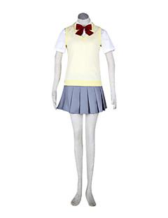 Karakura traje ver.cosplay uniforme escolar escola de meninas altas outono