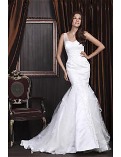 GLOUCESTERSHIRE - שמלת חתונה מ- סאטן ו- טול