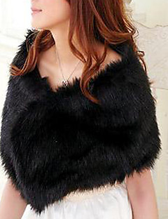 Adjustable Faux Fur Evening Shawl (More Colors)