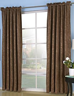 İki Panel Pencere Tedavi Neoklasik , Tek Renk Yatakodası Polyester Malzeme Perdeler Perdeler Ev dekorasyonu For pencere