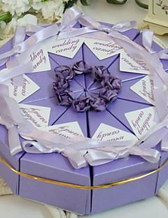 lila taart voor box (set van 10)