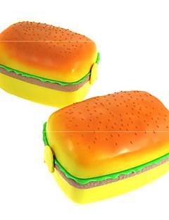 quadratische Felder hamburg lovely lunch box Doppelzellenfeld Sushi-Box Kinder