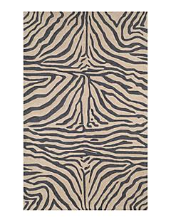acryl gekoppeld gebied tapijt met streeppatroon 5 '* 8'