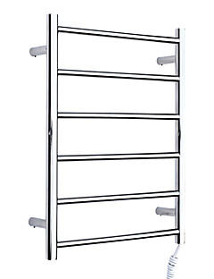 """Towel Warmer Stainless Steel Wall Mounted 700 x 540 x 55mm (27.5 x 21.2 x 2.16"""") Stainless Steel Contemporary"""