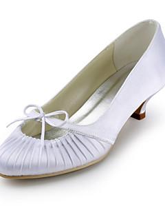 Feminino Wedding Shoes Saltos Saltos Casamento Preto/Azul/Rosa/Vermelho/Marfim/Branco/Prateado
