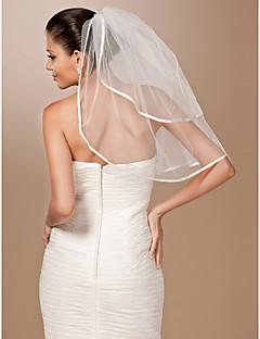 2 Layers Elbow Length Wedding Veil
