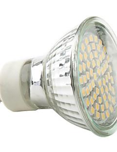 3W GU10 Spot LED MR16 60 SMD 3528 230 lm Blanc Chaud / Blanc Naturel AC 100-240 V