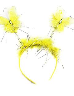 Cute Yellow Butterfly Halloween Headpiece (1 piece)